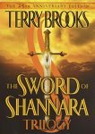 Cover of The Sword of Shannara by Terry Brooks - prominent image is an actual sword