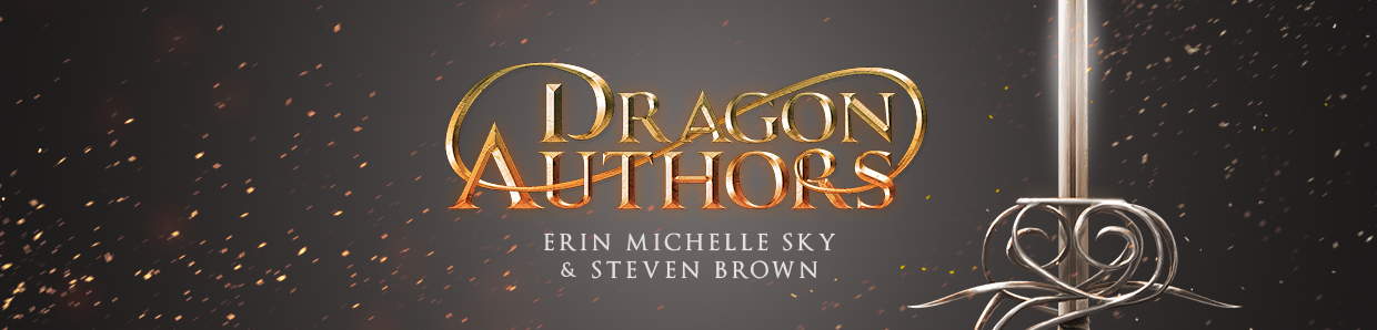 Dragon Authors - Erin Michelle Sky & Steven Brown - The Daily Bookaholic - Good books to read every day of the year.
