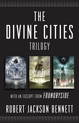 The Entire Divine Cities Trilogy for just $2.99! Usually $25.99!