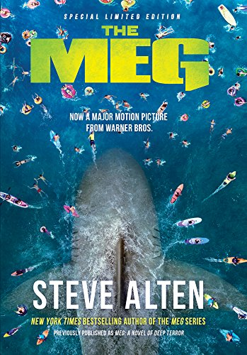 The Meg! A book. A film. A prehistoric shark. And a whopper of a sale for just $2.49!