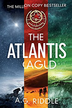 A. G. Riddle's Origin Mystery trilogy! The first of 6 sci-fi thriller deals to rev up your weekend!