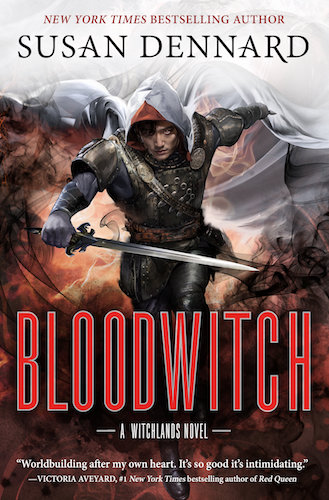 Cover reveal! Bloodwitch, by Susan Dennard! Coming in February, 2019!