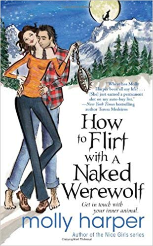 Naked werewolves and NMT covers. What's the deal with fantasy romcom cover art? (P.S. We love this one!)