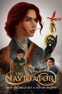 The Cover of the Navigator, a novel by Erin Michelle Sky & Steven Brown