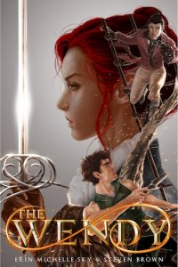 The Cover of the Wendy, a novel by Erin Michelle Sky & Steven Brown