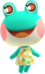 Animal Crossing New Horizons Villager Lily